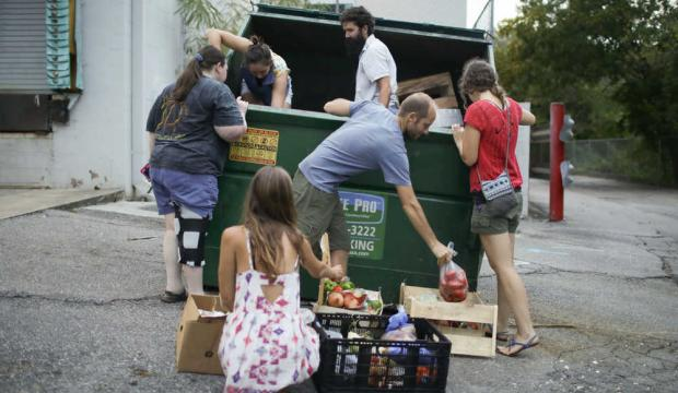 Free School Supplies in dumpsters | Dumpster Dive 360