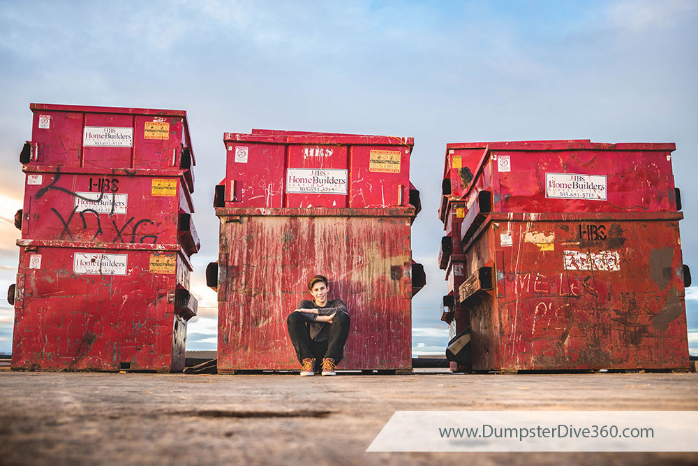 Dumpster Buddy - Why Dumpster Diving is More Fun with Friends | DumpsterDive360.com