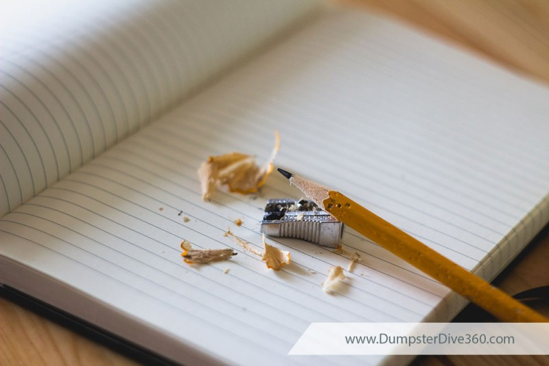 Take Note - Keep a Journal to Track Your Finds | DumpsterDive360.com